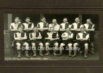 Derby School - 1st XI 1932