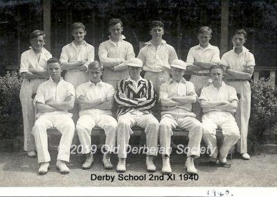 Derby School 2nd XI Summer 1940