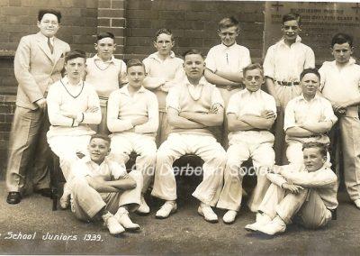 Derby School Juniors Summer 1939