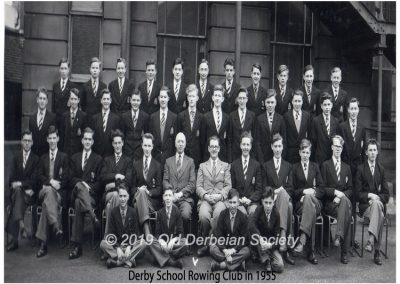 Derby School Rowing Club 1955