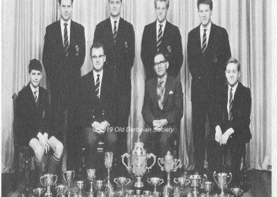 Derby School Rowing Club First Crew 1961