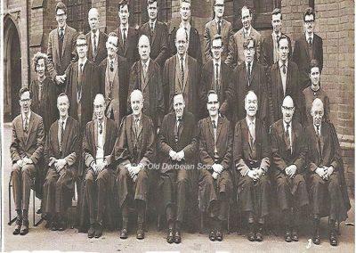 Derby School masters 1966 - from wikipedia