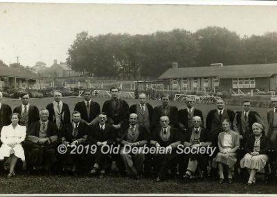 Derek Beeson - Staff in 1941-42