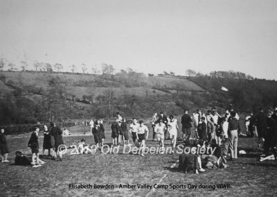 Derby School Sports Day Summer 1941
