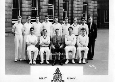 First XI Cricket Team May 1960