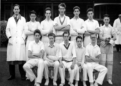 First XI Cricket Team approx. 1960