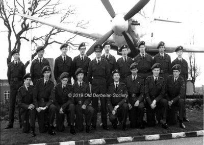 Foulke again at RAF Leuchars 1970