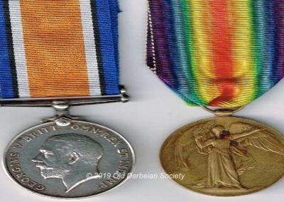 Frank Spencer Riches - Medals WWI