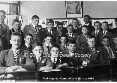 Fred Hughes -Forms 5A & 5B circa 1935