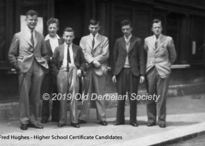 Fred Hughes - Higher School Certificate Candidates