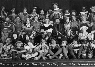 Fred Hughes - School Play - Dec 1934