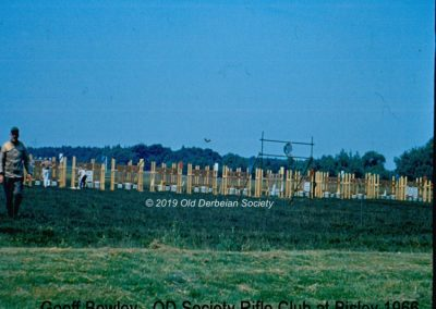 Geoff Bowley - OD Rifle Club targets at Bisley