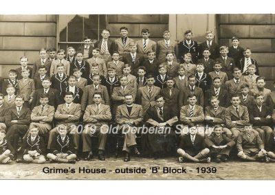 Grimes House outside B Block 1939