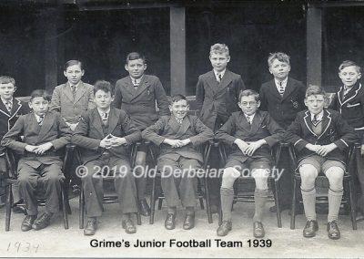 Grimes Junior Football Team 1939