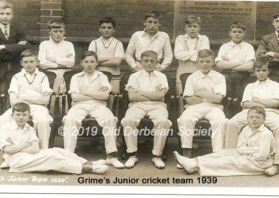 Grimes Junior Team Summer 1939