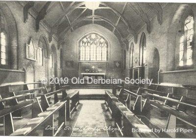 Harold Pipes - Derby School Chapel