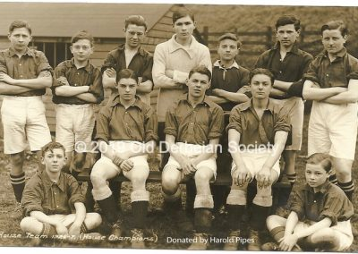 Harold Pipes - Fuller's House Team 1926-27-House Champions