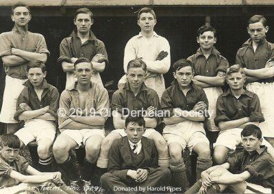 Harold Pipes - Fuller's House Team Nov 1929