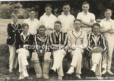 Harold Pipes - School 1st XI 1928