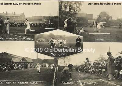 Harold Pipes - Sports Day at Parker's Piece, Derby School