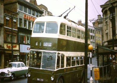 Harvey Road Trolleybus No. 41