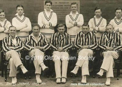 Jack Bussell - 1st XI Cricket Team July 1931