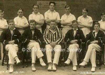 Jack Bussell - Gately's XI July 1931