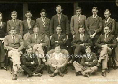 Jack Bussell - Sixth Form July 1931