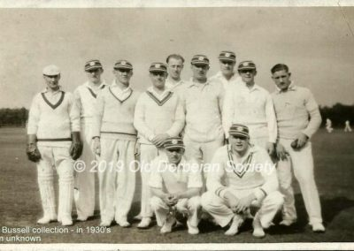 Jack Bussell collection - team unknown in 1930's