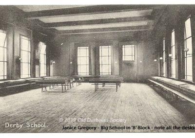 Janice Gregory - Big School complete with desks