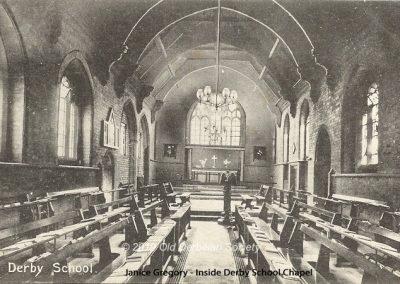 Janice Gregory - Inside Derby School Chapel 1
