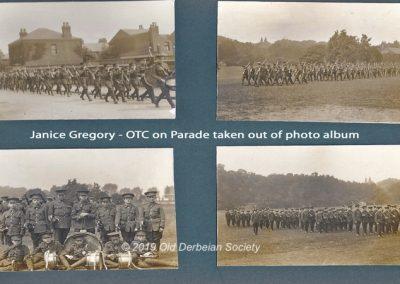 Janice Gregory - OTC on parade album page 1