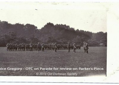 Janice Gregory - OTC on parade for review on Parker's Piece (2)