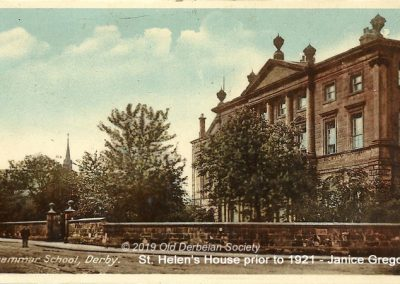 Janice Gregory - St. Helen's House prior to 1921