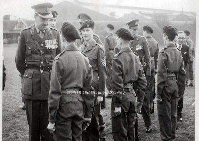 John Ashburner - Centenary 1962 Parade Inspection