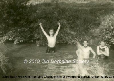 John Booth - Ken Allen, Charlie White & John Booth in Amber Valley pool 1