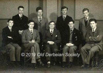 John Dobson - Praeposters at St. Helen's House 1949
