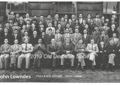 John Lowndes - Fullers House at Derby School July 1938