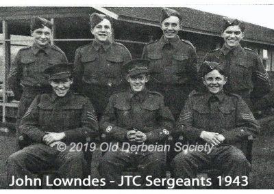 John Lowndes - JTC Sergeants 1943