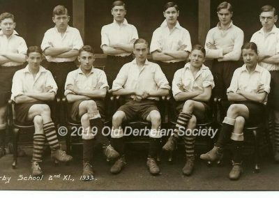 John Vale - 2nd XI Football 1933