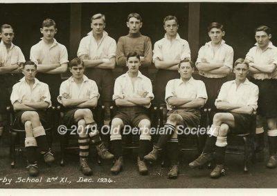 John Vale - 2nd XI Football Dec 1934