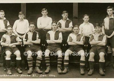 John Vale - Cruikshanks House XI Dec 1934
