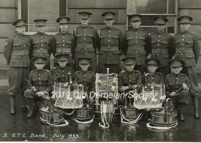John Vale - OTC Band July 1933