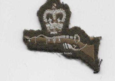 Ken Williamson - .22 marksman badge 1961