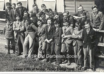 Lower Fifth Amber Valley Camp 1940-41