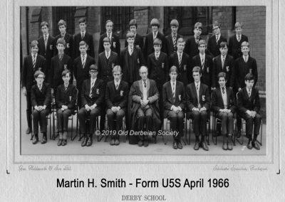 Martin H. Smith Form U5S April 1966