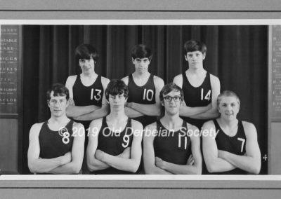 Martin Tunaley - 1st team Netball 1968