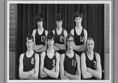 Martin Tunaley - 1st team Netball 1969