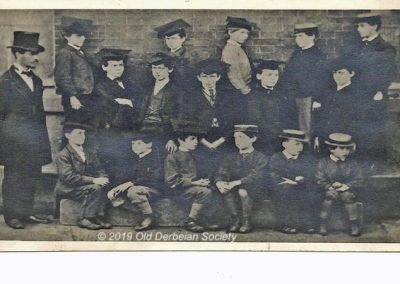 Martin Tunaley - Derby School Master & Pupils 1872