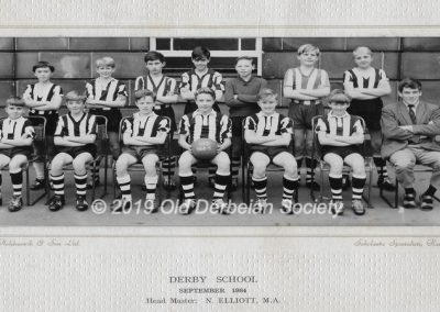 Martin Tunaley - Junior 1st XI 1964-65 season